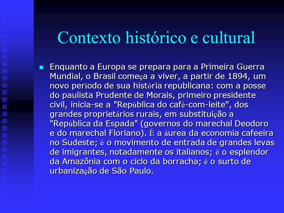 Contexto histórico e cultural