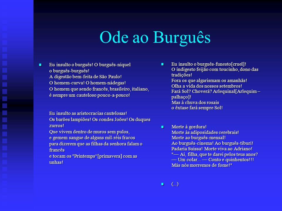 Ode ao Burguês