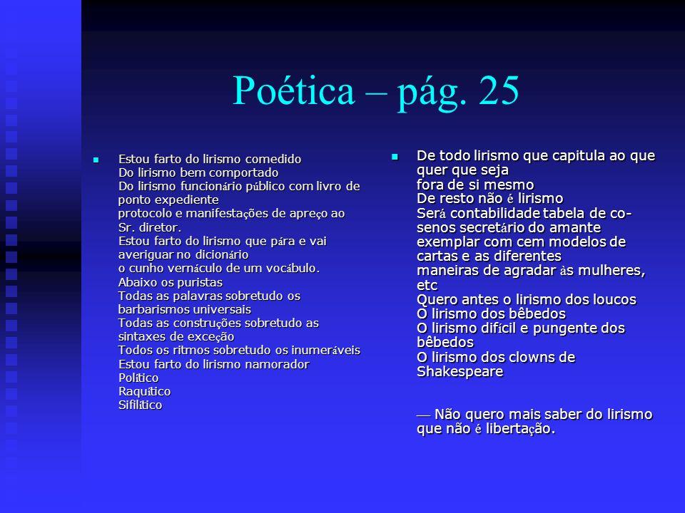 Poética – pág. 25