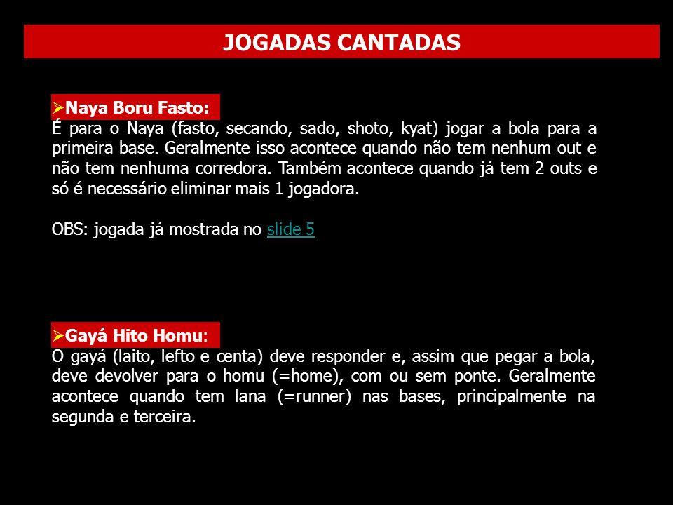 JOGADAS CANTADAS Naya Boru Fasto:
