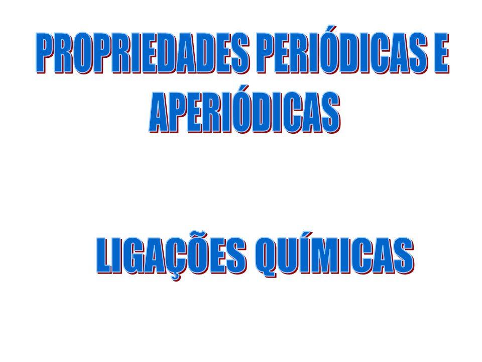 PROPRIEDADES PERIÓDICAS E