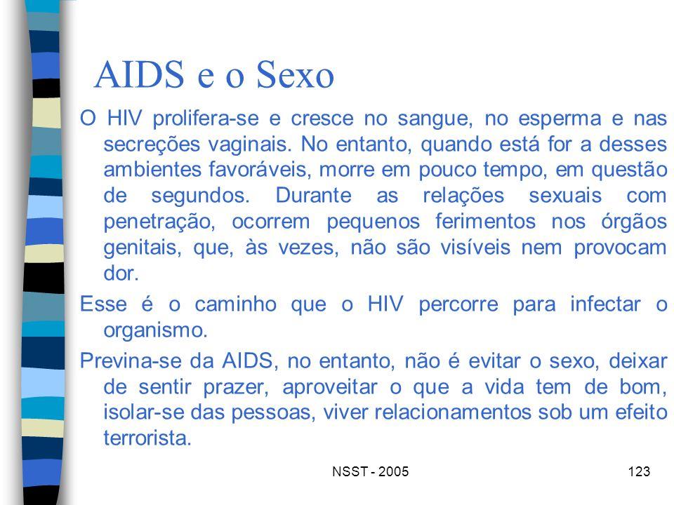 AIDS e o Sexo