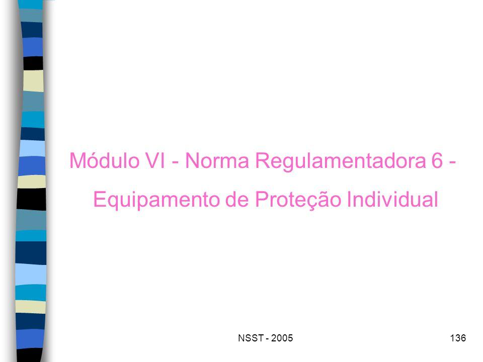 Módulo VI - Norma Regulamentadora 6 -