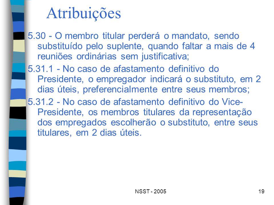 Atribuições