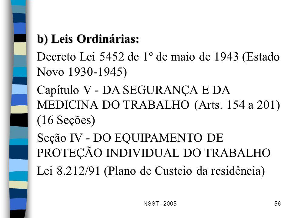 Decreto Lei 5452 de 1º de maio de 1943 (Estado Novo 1930-1945)