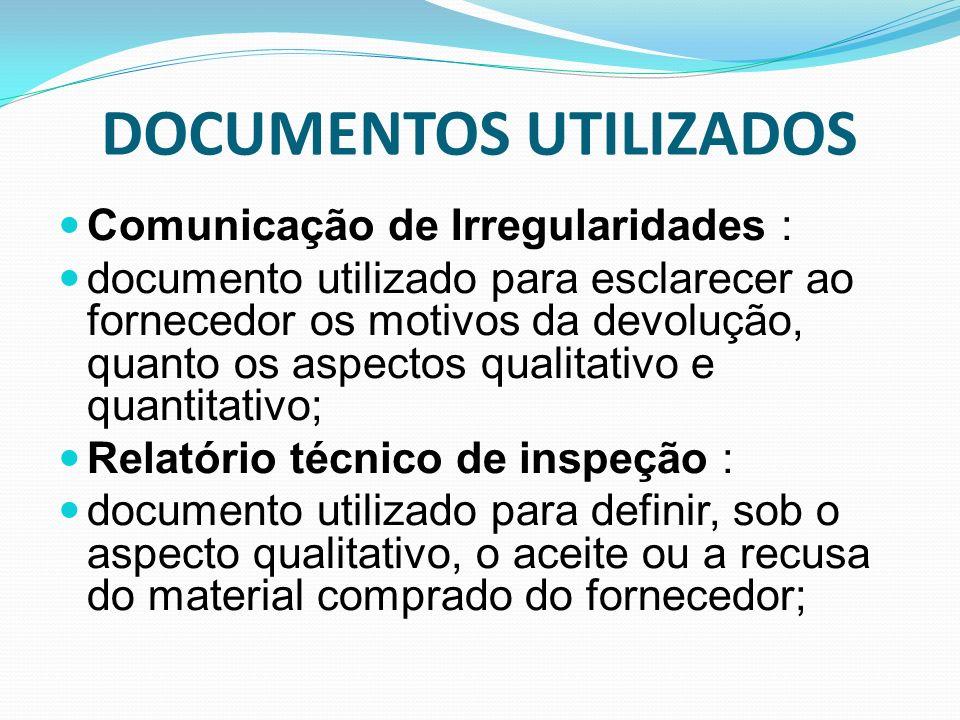 DOCUMENTOS UTILIZADOS