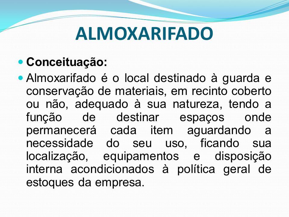 ALMOXARIFADO Conceituação: