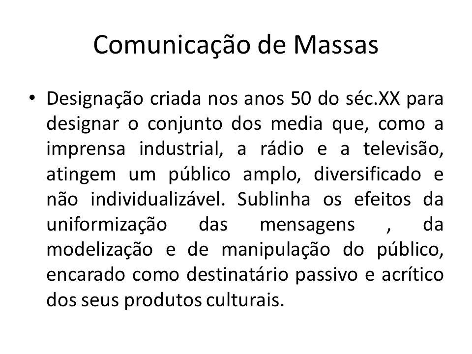 Comunicação de Massas