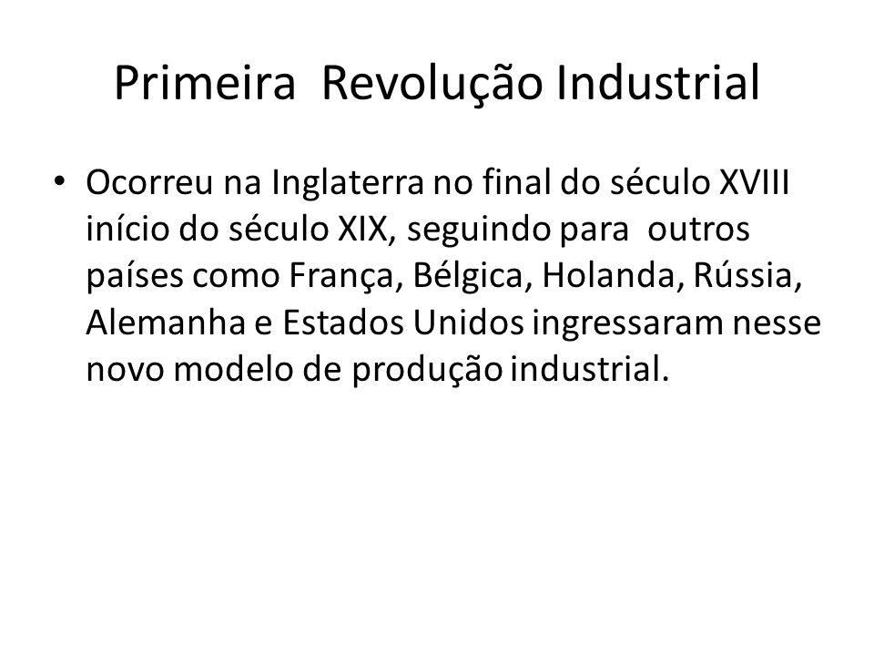 Primeira Revolução Industrial