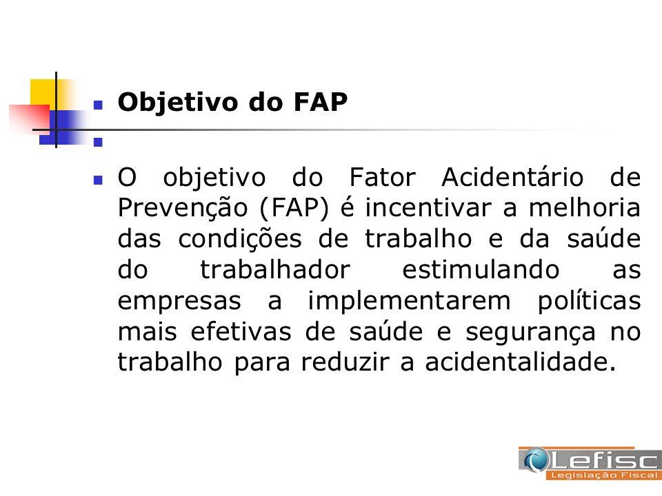Objetivo do FAP