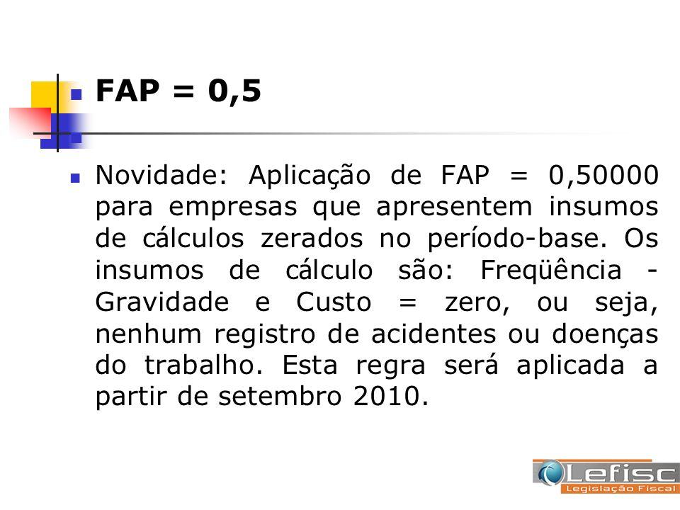 FAP = 0,5