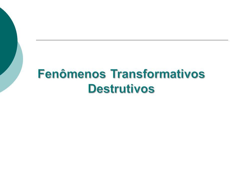 Fenômenos Transformativos Destrutivos