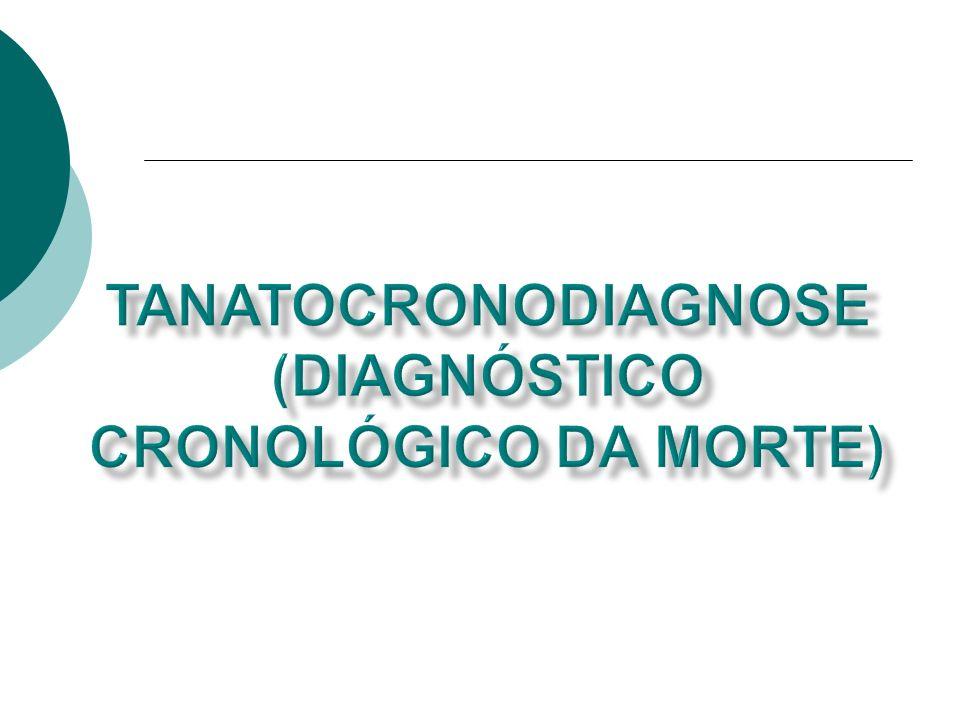 Tanatocronodiagnose (Diagnóstico Cronológico da Morte)