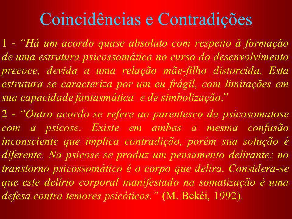 Coincidências e Contradições