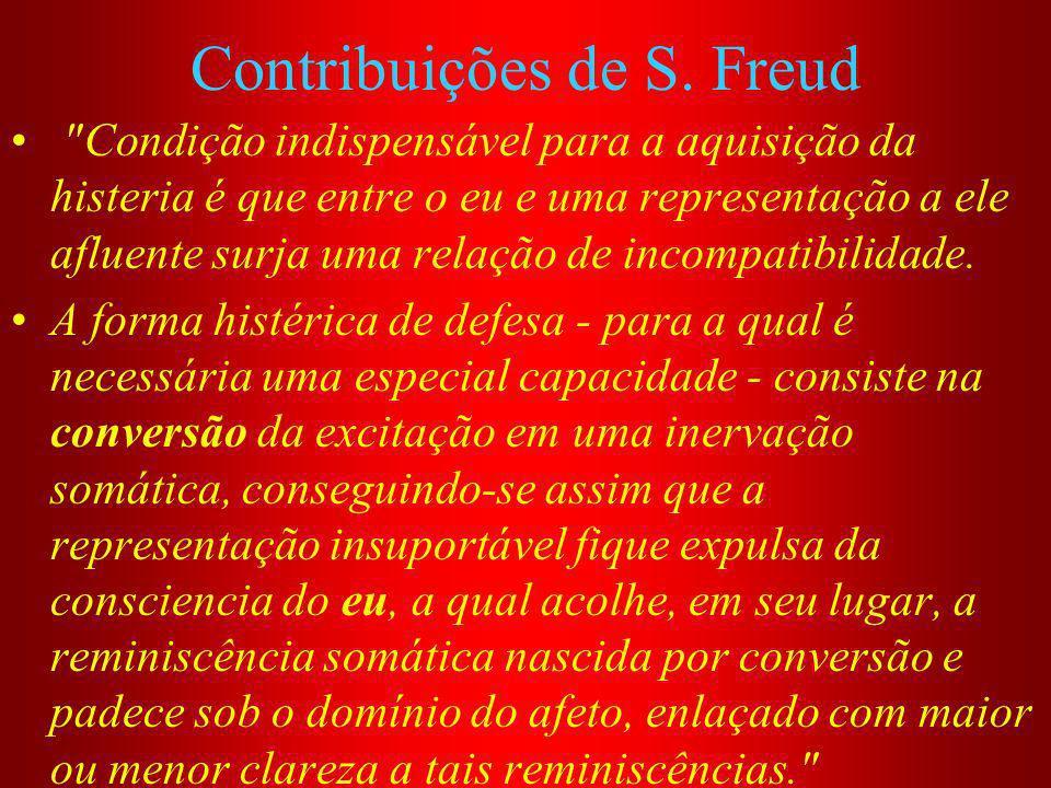 Contribuições de S. Freud