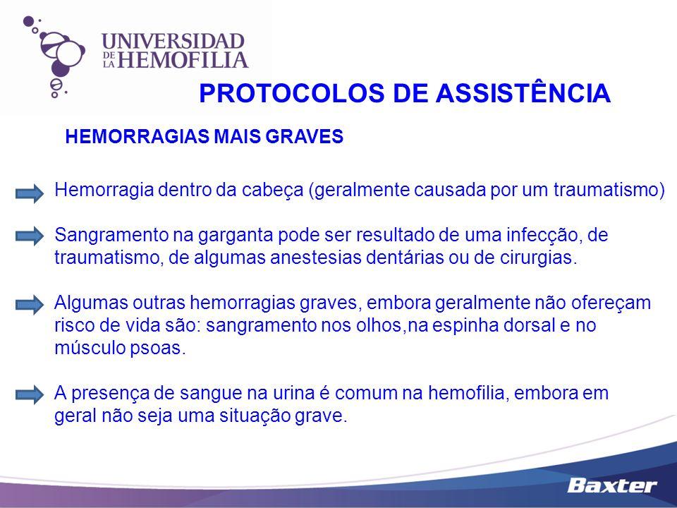 PROTOCOLOS DE ASSISTÊNCIA