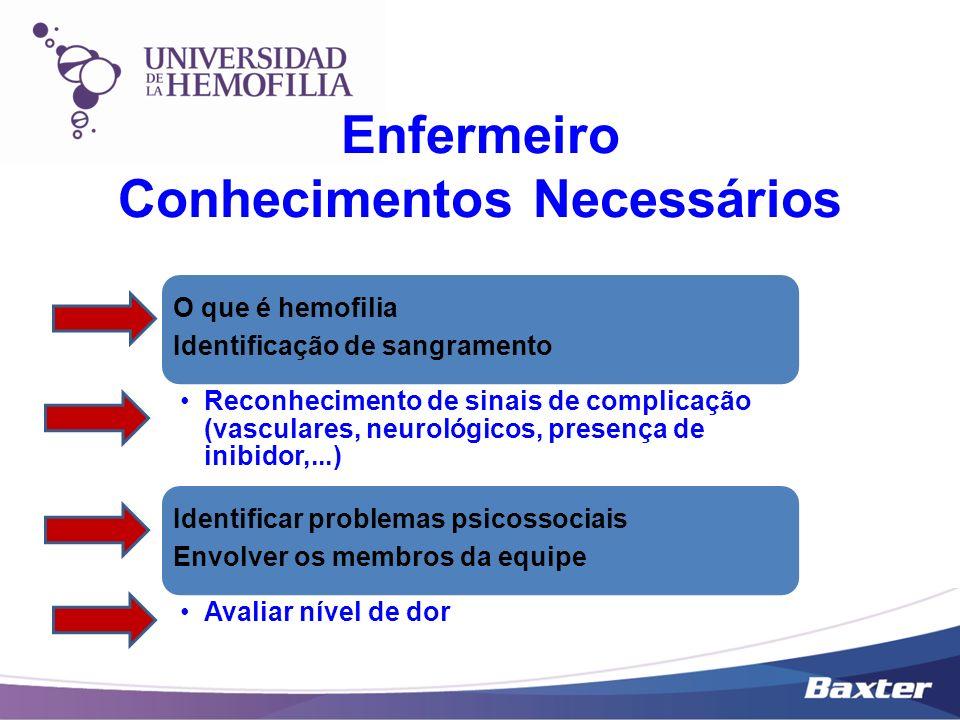 Enfermeiro Conhecimentos Necessários