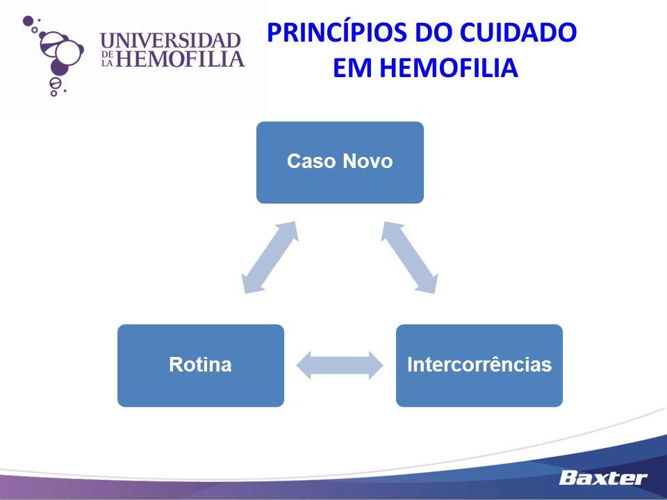 PRINCÍPIOS DO CUIDADO EM HEMOFILIA
