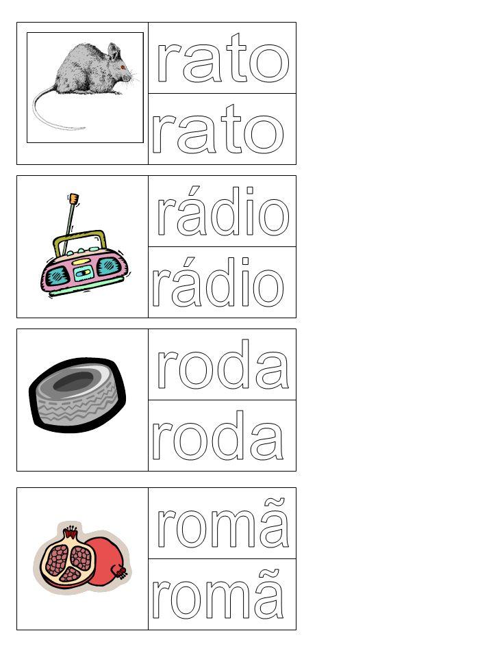 rato rato rádio rádio roda roda romã romã