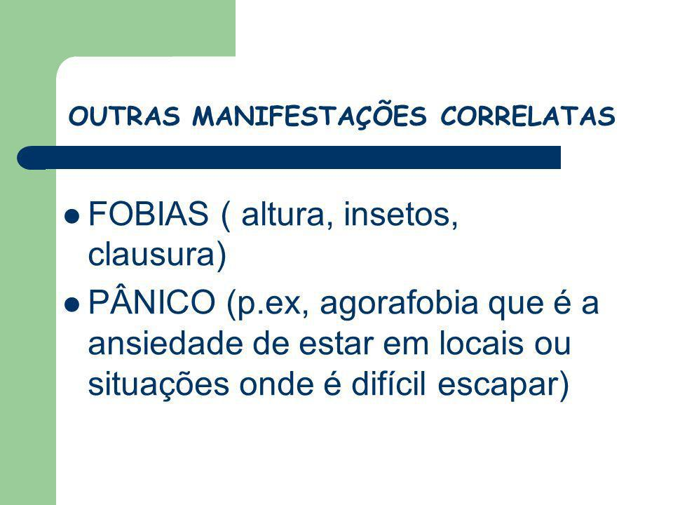 OUTRAS MANIFESTAÇÕES CORRELATAS