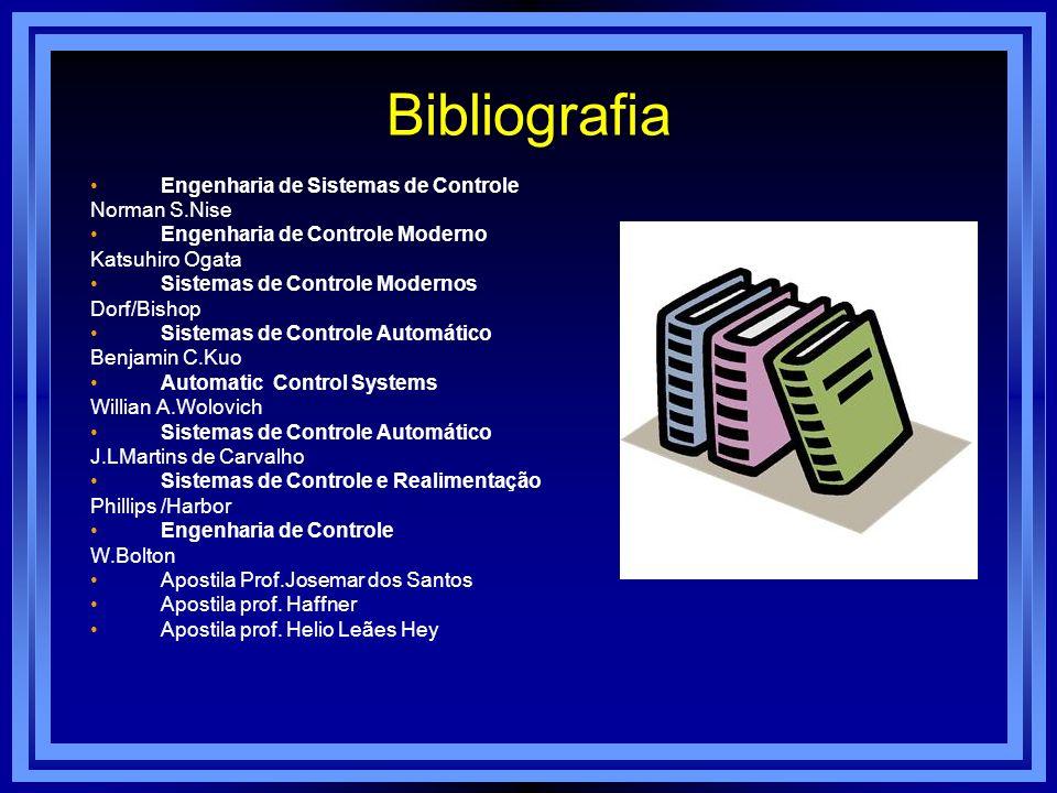 Bibliografia Engenharia de Sistemas de Controle Norman S.Nise