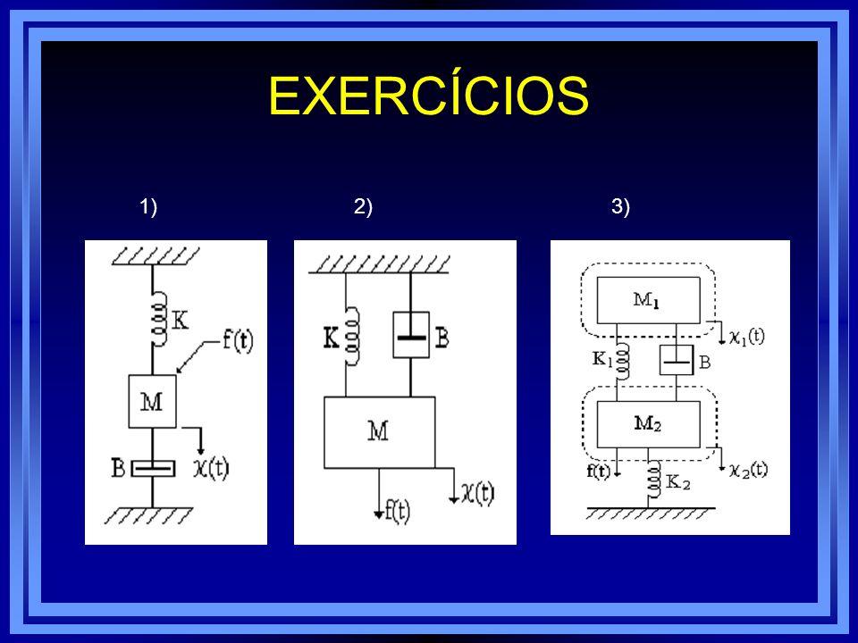 EXERCÍCIOS 1) 2) 3)