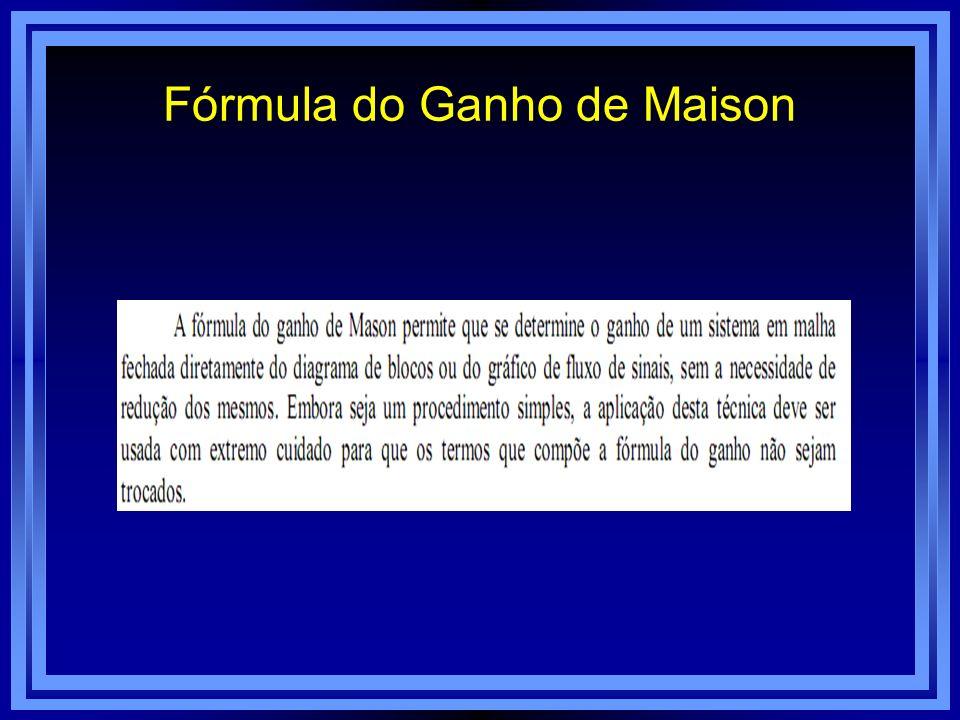 Fórmula do Ganho de Maison