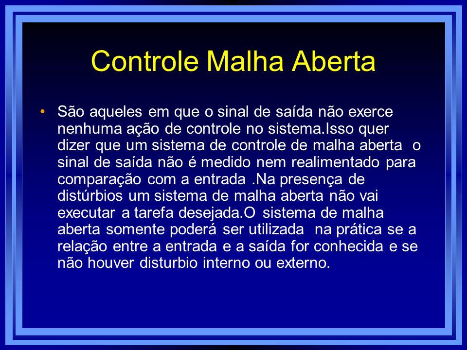 Controle Malha Aberta