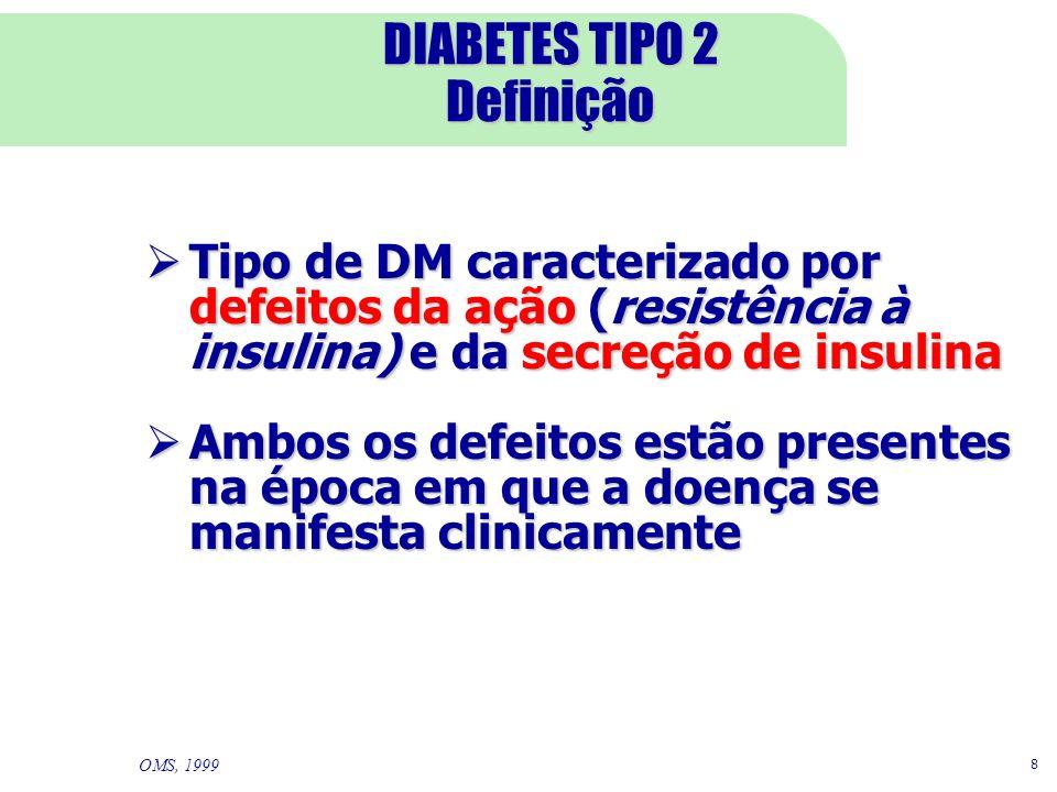 DIABETES TIPO 2 Definição