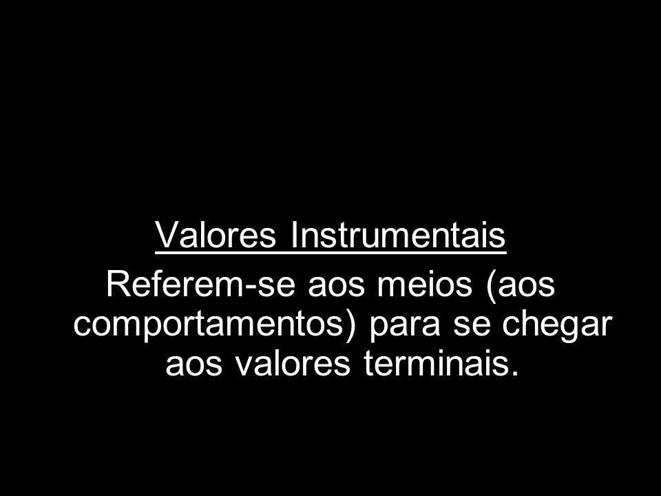 Valores Instrumentais