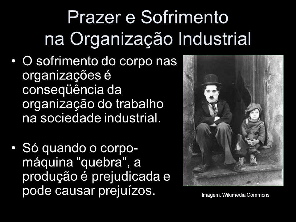 Prazer e Sofrimento na Organização Industrial