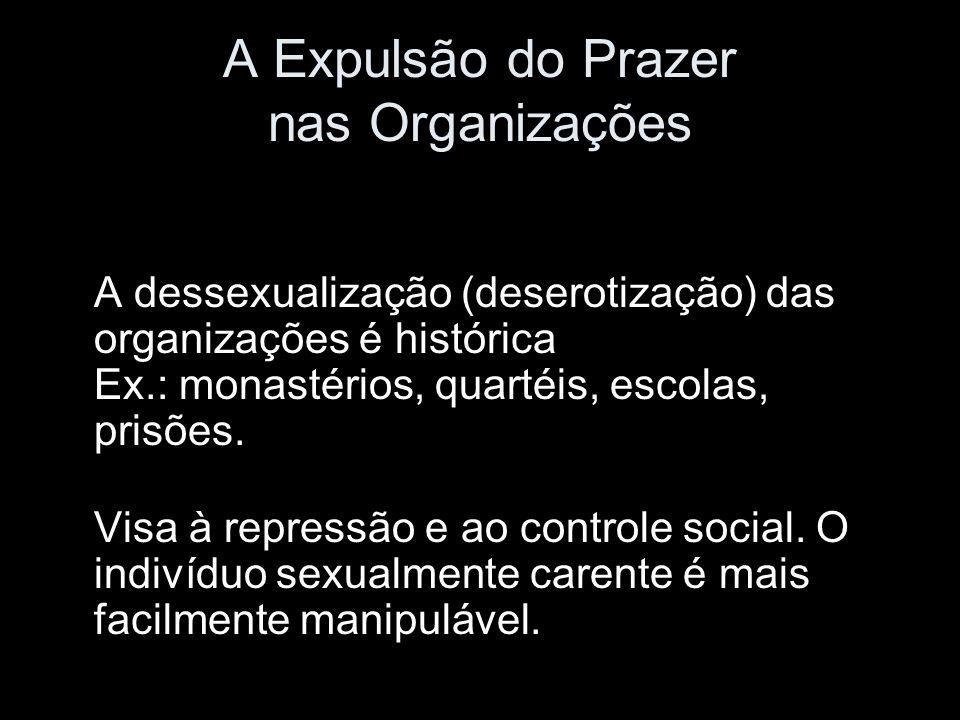 A Expulsão do Prazer nas Organizações