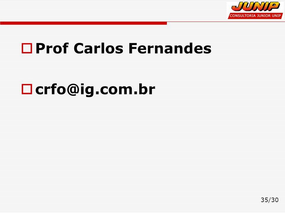 Prof Carlos Fernandes crfo@ig.com.br