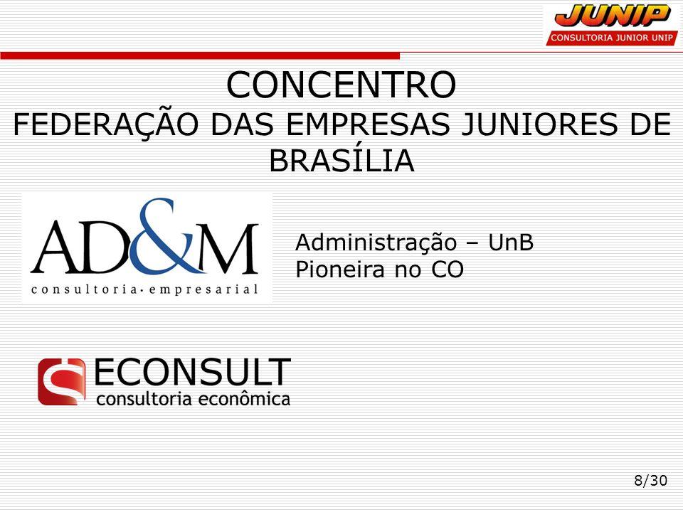 CONCENTRO FEDERAÇÃO DAS EMPRESAS JUNIORES DE BRASÍLIA