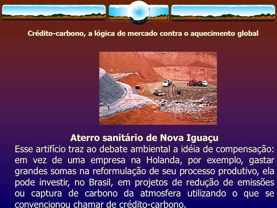 Aterro sanitário de Nova Iguaçu