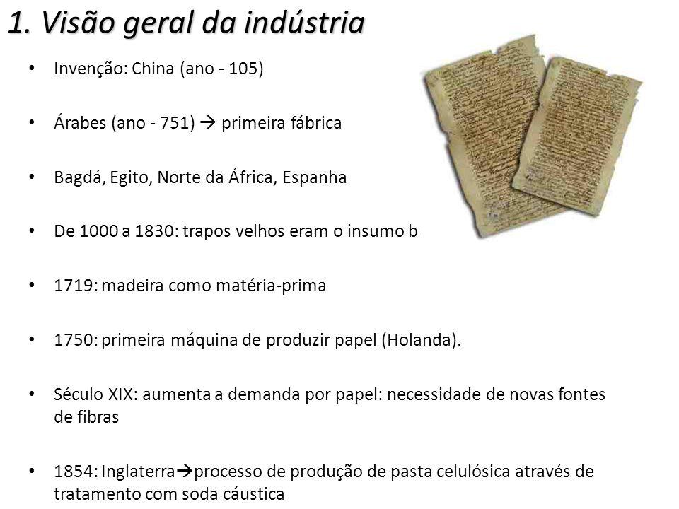 1. Visão geral da indústria