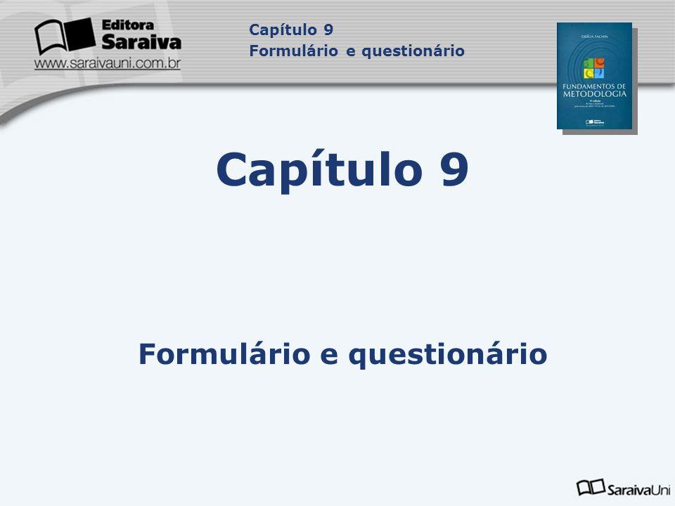 Formulário e questionário