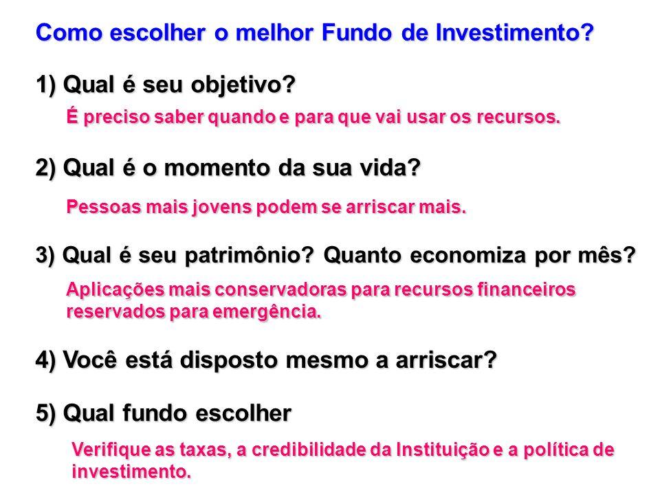 Como escolher o melhor Fundo de Investimento