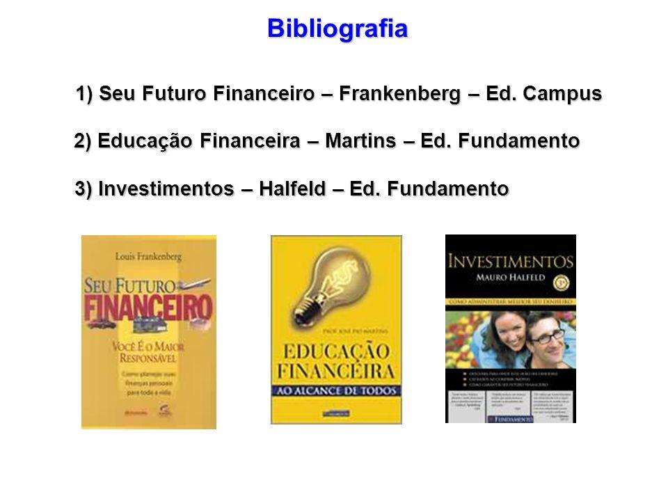 Bibliografia 1) Seu Futuro Financeiro – Frankenberg – Ed. Campus