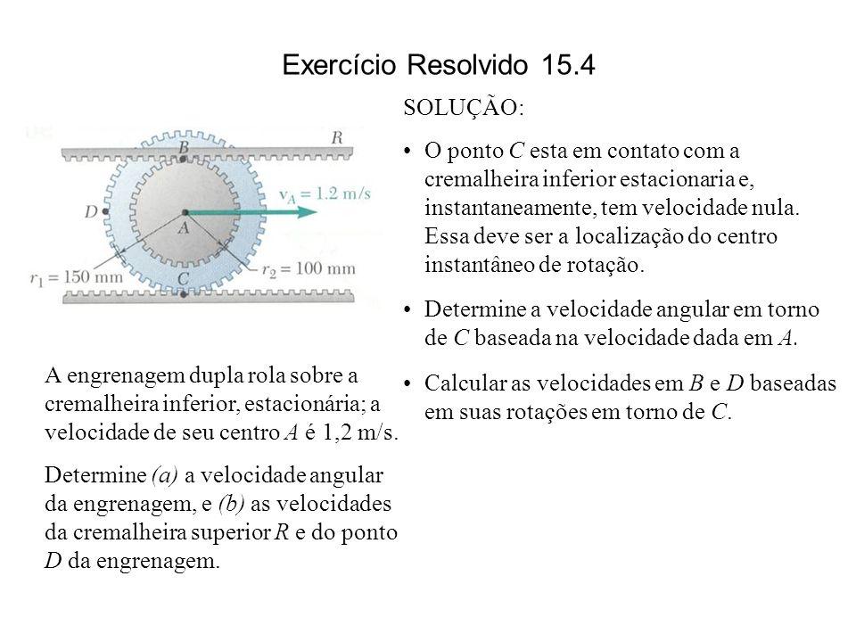 Exercício Resolvido 15.4 SOLUÇÃO: