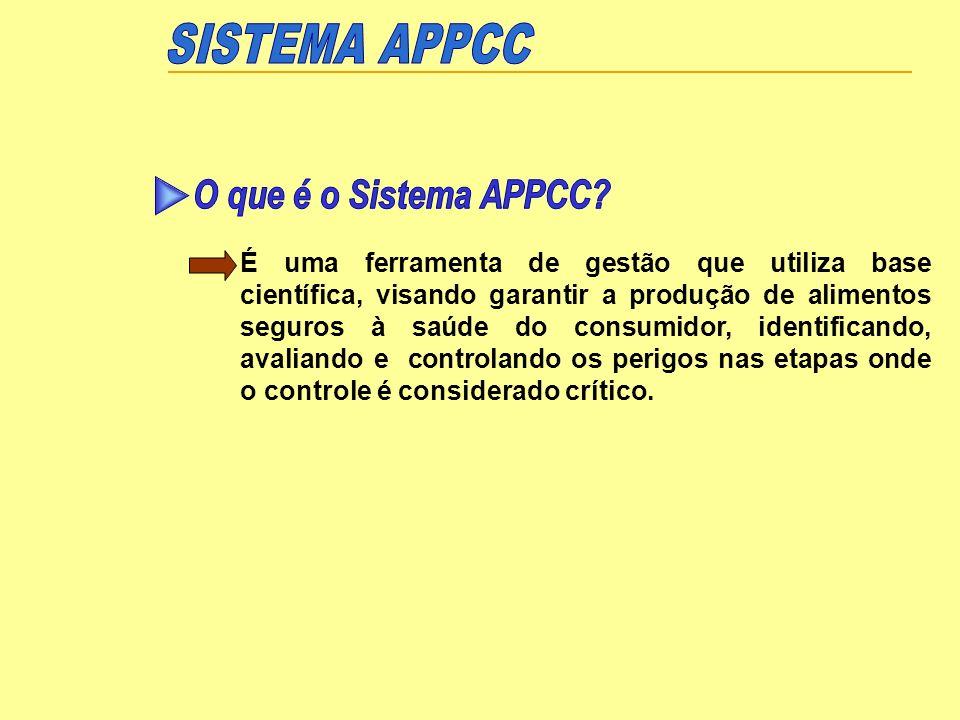 SISTEMA APPCC O que é o Sistema APPCC