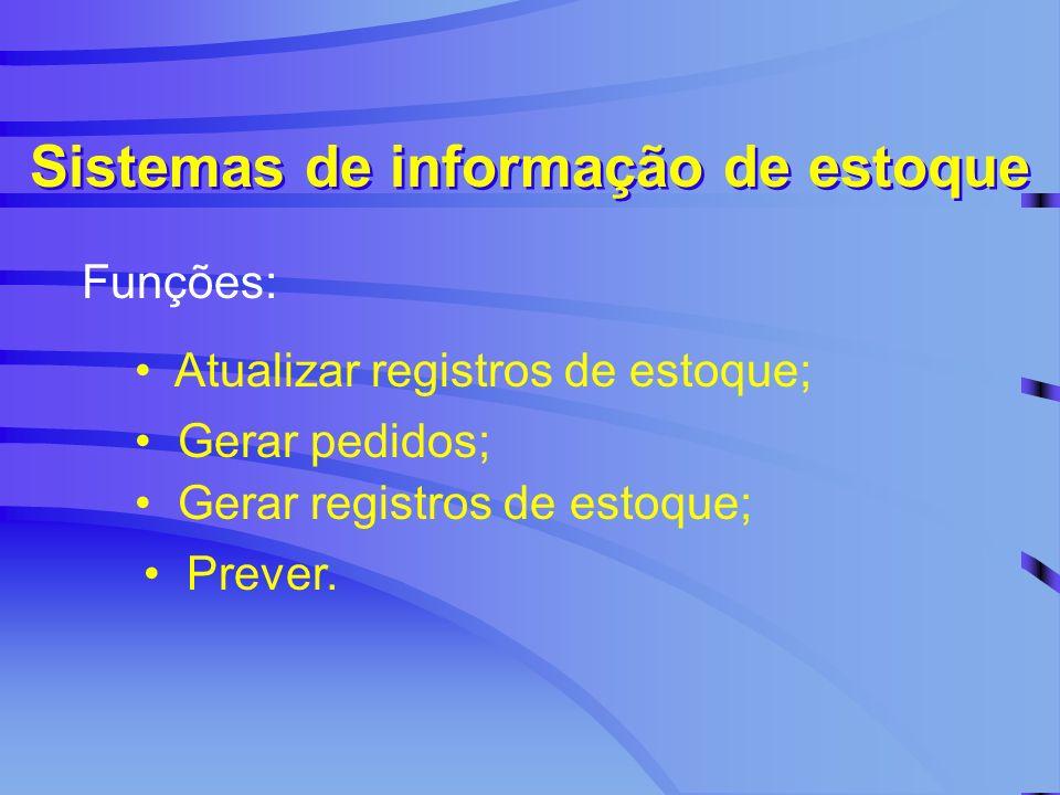 Sistemas de informação de estoque
