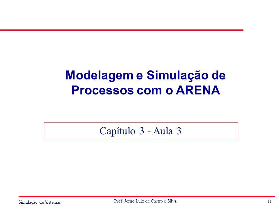 Modelagem e Simulação de Processos com o ARENA