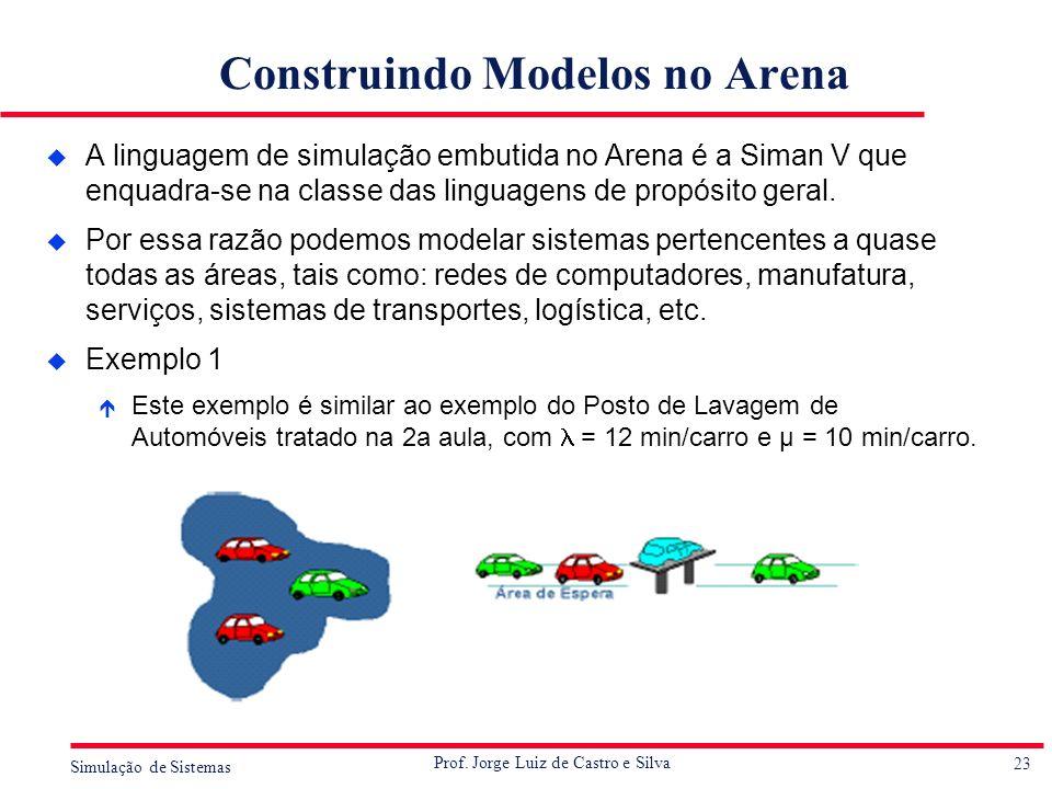Construindo Modelos no Arena