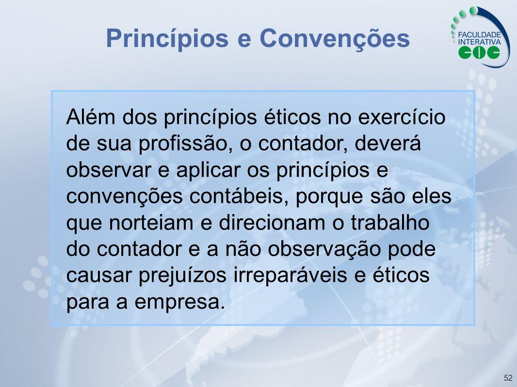 Princípios e Convenções