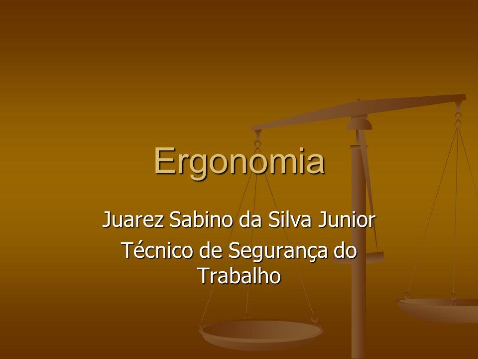 Juarez Sabino da Silva Junior Técnico de Segurança do Trabalho