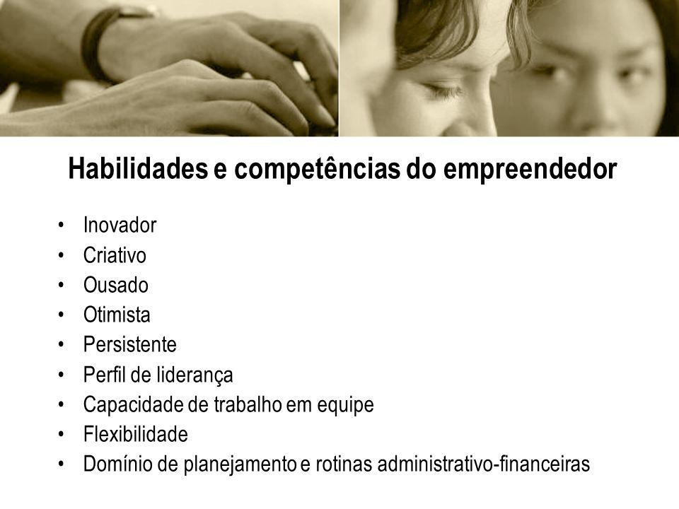 Habilidades e competências do empreendedor