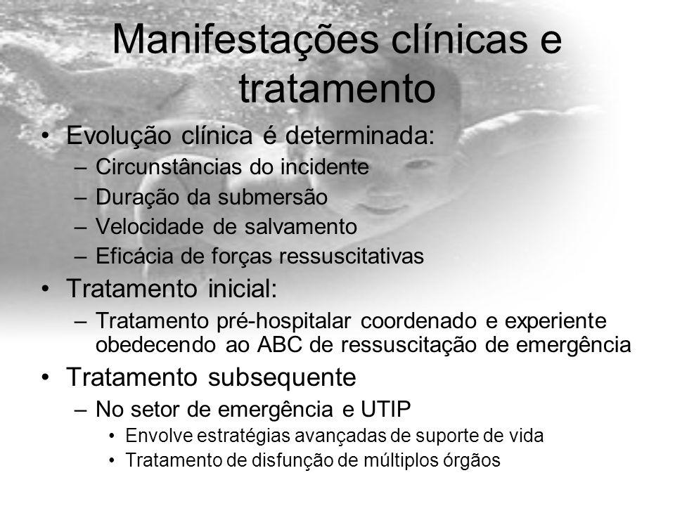 Manifestações clínicas e tratamento