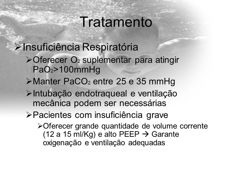 Tratamento Insuficiência Respiratória