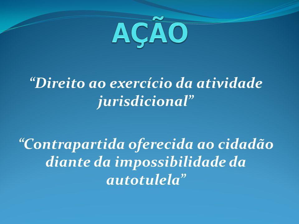 Direito ao exercício da atividade jurisdicional